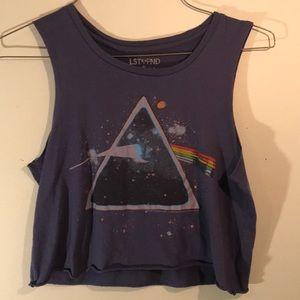 Tops - Pink Floyd crop top